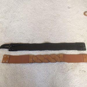 BCBG belts.